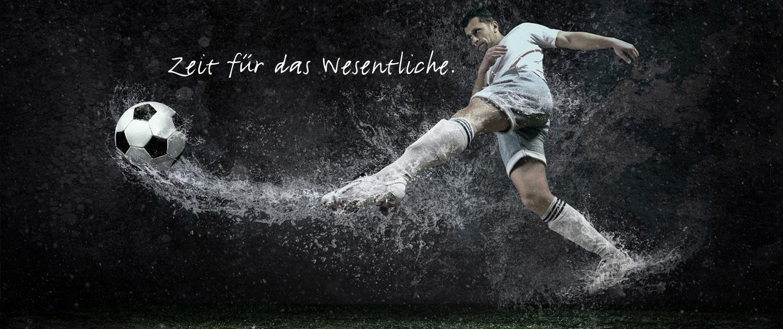 Fussballer, Leistungssportler